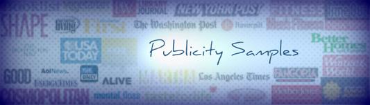 publicity samples